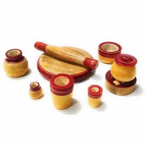 Wooden Kitchen Set Toy