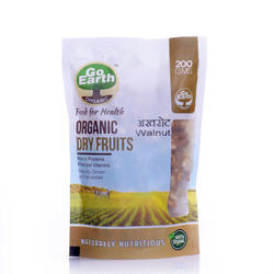 Go Earth Organic Organic Walnut, Packaging Type: Plastic Pouches