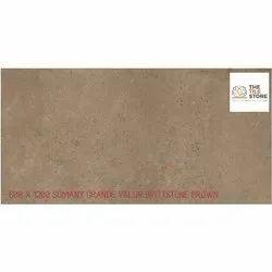 600 x 1200 SOMANY Grande Valor Brittstone Brown