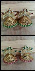 Jali Jhumka Earring