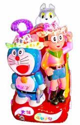 Kiddie Amusement Ride Game - Doremon & Friends