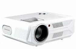 OOZE 4500 Lumens LED Projector with HDMI,VGA,AV, USB,3.5mm Audio