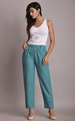 Cotton Trousers For Ladies