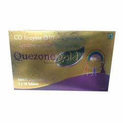 Quezone Gold Tablet, Packaging Size: 1x10 Tablets, Grade standard: Medicine grade