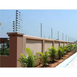 Iron, Stainless Steel Solar Security Fencing