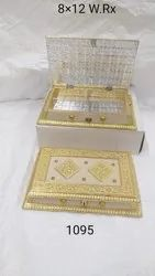 Golden Designer Dry Fruit Box