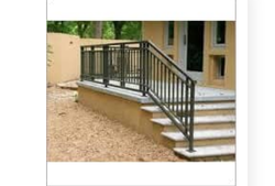 Black Iron Stair Railing