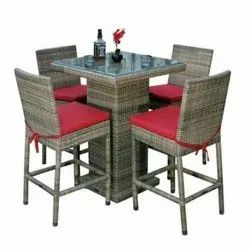 4 Seater Bar Table & Chair