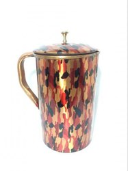 Printed Copper Jug 1500 ml