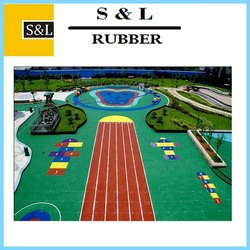 Kids Play Area EPDM Rubber Flooring