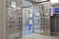 Silver Stainless Steel Doors for Home, Office and Commercial