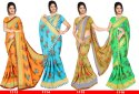 Ligalz Presents Chiffon Saree With Blouse
