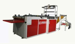 Plastic BOPP BAGS Side Sealing Bag Making Machine, 415 V Ac, Capacity: 200 bags/min