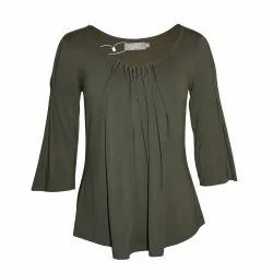 Casual Wear Cotton Ladies Full Sleeve Top