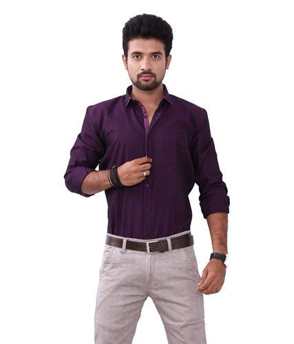 5a1871d0455b Cotton And Satin Embroidered And Stripes Men  s Party Wear Shirt
