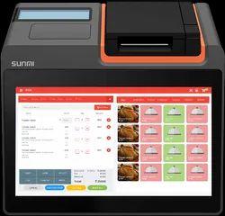Semi-Automatic Sunmi T2 Billing Machines, Android 7.1, 230 V