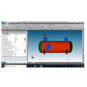 Pressure Vessel design-Pvelite