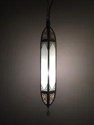 Silver Pendant Lantern