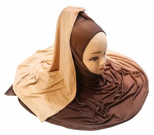 Incredible Rust Color Outdoor Wear 2 Shade Soft Jersey Stretchable Scarf Hijab Dupatta Ibusinesslaw Wood Chair Design Ideas Ibusinesslaworg