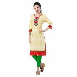 Multicolor Cotton Designer Kurti