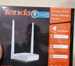 White Wireless or Wi-Fi Tenda, N 301