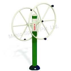 Outdoor Gym Equipment Metco Arm Wheel (Two Wheels) 9125