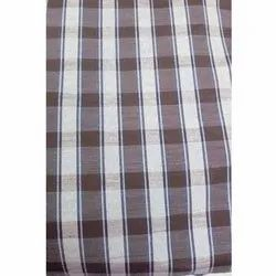 Casual Wear Satin Check Fabric