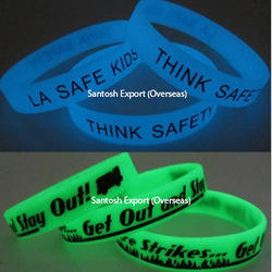 Glow in Dark Silicone Bands