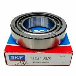 32214 SKF Mild Steel Ball Bearings, For Industrial