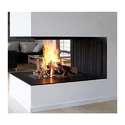 3D Flame Electric Fireplace With 2 Side View