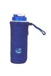 Blue Water Bottle Beverage Cooling Cover