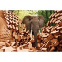 Mpro-tech Kids Room Elephant Pvc Vinyl Wall Sticker