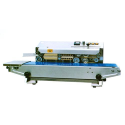 Stainless Steel Horizontal Band Sealing Machine, 0.5 Kw