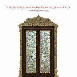 Pooja door design