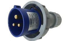 Industrial Plug - IP67 - 16A 3 Pin