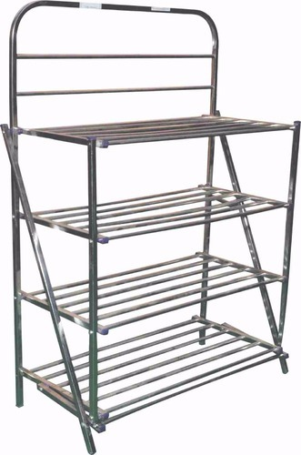 7c3b3be9fa1 SBI Stainless Steel Shoe Rack 4 Tier