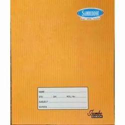 Metro Hard Bound School Writing Notebook, Size: 19x15