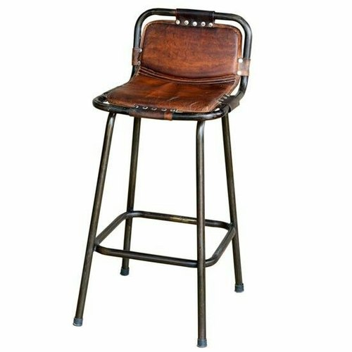 Iron Leather Bar Stool Chair At Rs 2600