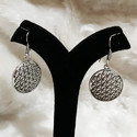 Oxdised German Silver Earrings