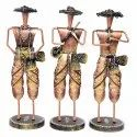 Iron Crafted Musician Figurines Musician Showpiece Decorative Items Decorative Showpiece Home Decor