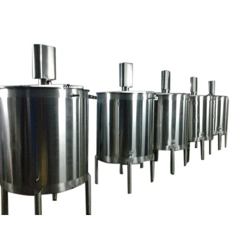 Stainless Steel Juice Mixing Tank, Capacity: 250 to 5000 L, Storage Capacity: 1000-5000 L