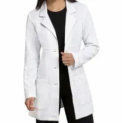 Cotton Lab Coat (S, M, L, XL, 2XL, 3XL, 4XL) for Hospital