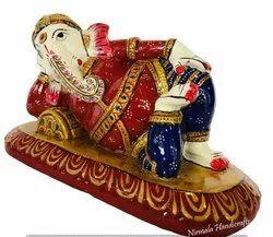Metal Sleeping Ganesh