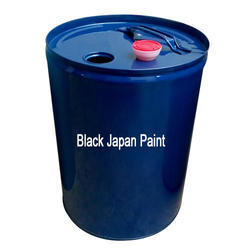 Rising Black Japan Paint