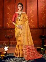 This Festive Season With Beauty And Comfort Wearing This Pretty Silk Based Saree