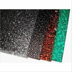 Embossed Poly Carbonate Roofing Sheet