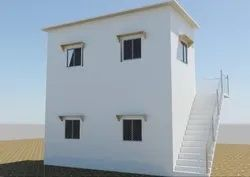 Two Storey Prefabricated Shelter
