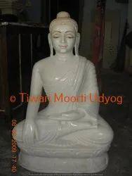 Marble Sarnath Buddha Statue