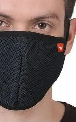 Black Reusable Wildcraft Face Mask ( Pay on Delivery), Number of Layers: 6