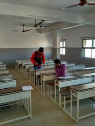 Class Room Desk bench 06